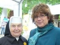 Františka z Domova pokojného stáří Naší Paní v Klatovech