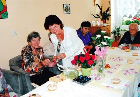 Marcela z Domova seniorů v Boru u Tachova